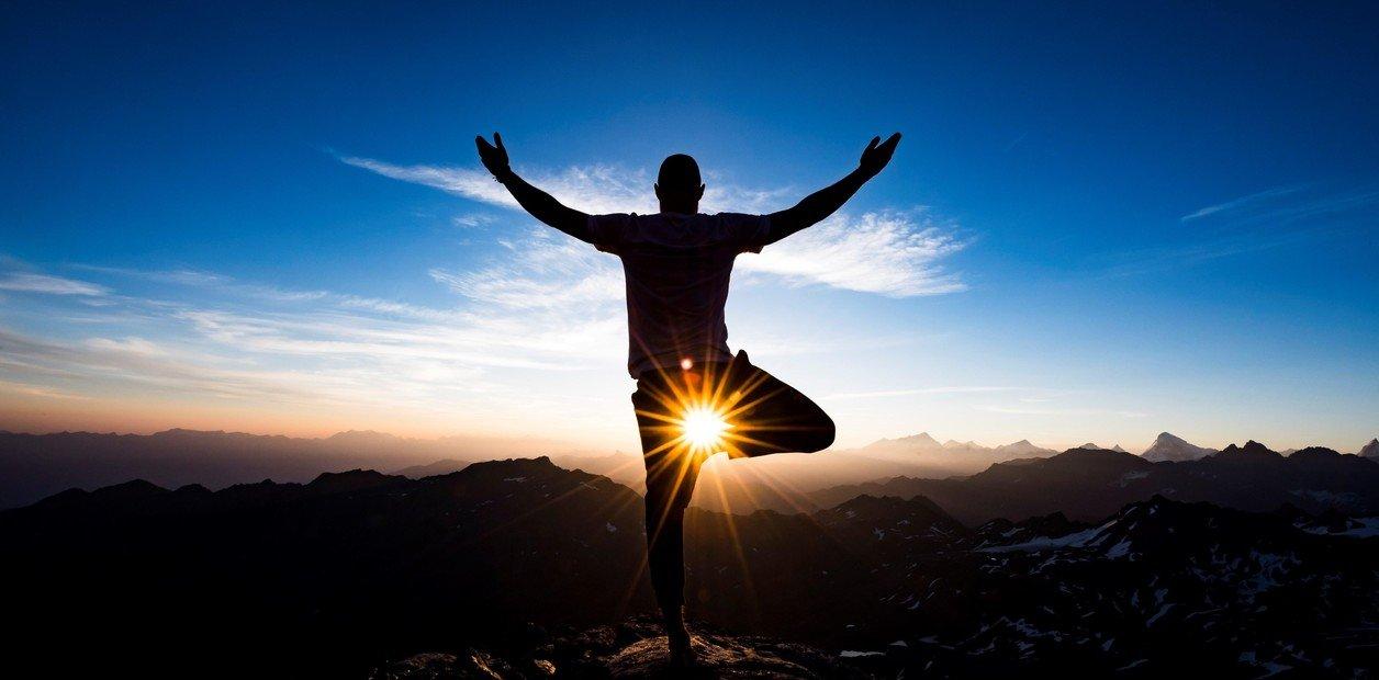 Yoga en las alturas